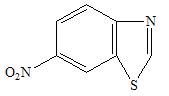 six nitrobenzothiazole intermediate
