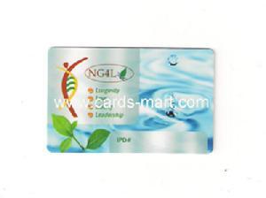 print class plastic card