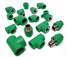 green ppr fittings