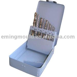 drill bits din 338 10 extractors metal box