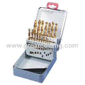 drill bits hss g ground tin coated din338