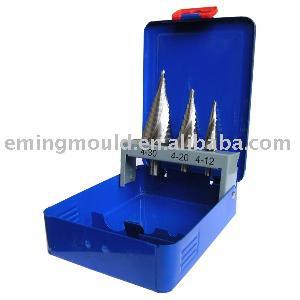 step drills metal box