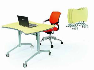 office table aluminium alloy base