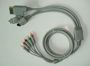 ps3 xbox360 wii ps2 4 1 component cable