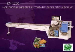 horizontal wrapper packaging machine km 1200