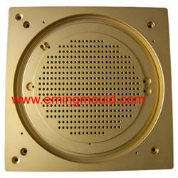 gold anodize metal machine