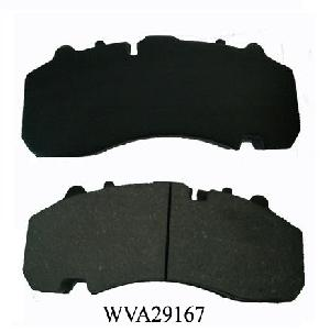 truck break pads wva29167