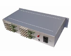 fiber optic transceiver 1 32 channel video audio