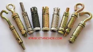 4 heavy duty shield anchor fix bolt