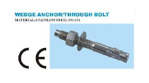 wedge anchor bolt stainless steel