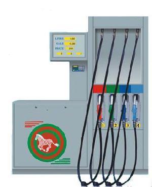 fuel dispenser european 8 nozzles