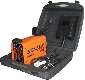 portable dc inverter mma welding machine arc welder zx7 200