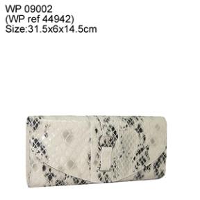 croc fashion clutch bag