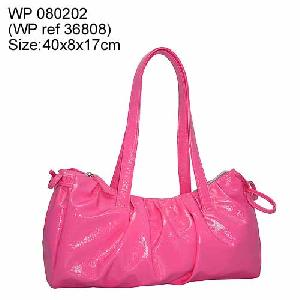 pu leather fashion handbag
