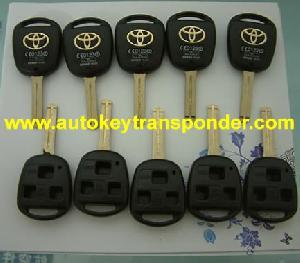 toyota 3 button key shell toy 43