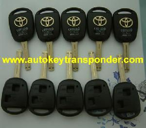 toyota 3 button key shell toy 48