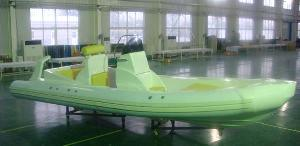 rigid inflatable boat 730
