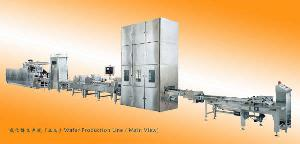 wafers baking line