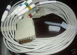 burdick ekg cable 12 leads quinton atria