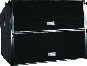 trans audio flexible performance line array loudspeaker mini281