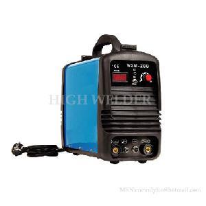 digital display inverter dc tig mma welding machine welder ws 200 160 b22