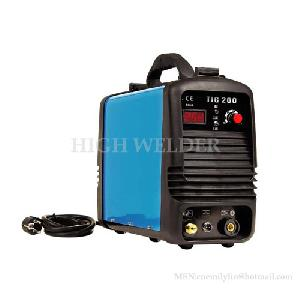 digital display inverter dc tig welding machine welder 200 160 b22