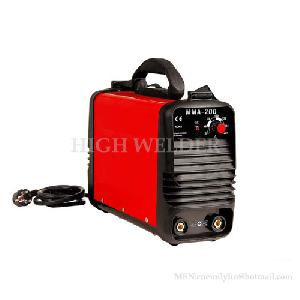plastic inverter mma arc dc hand electrode welder 80 95 105 140 160 180 200