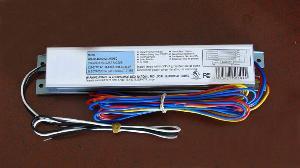 3 lamp 32watt t8 120v 277v electronic ballast instant