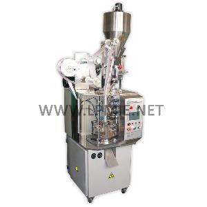 dxds40 pyramid triangle tea bag packaging machine