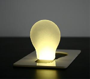 mini card lamp