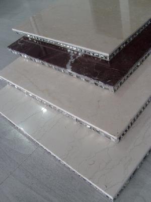 cream marfil composite aluminum honeycomb tile
