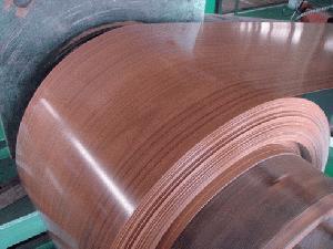 wood imitation prepainted steel coil