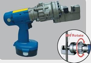 portable motor hydraulic rebar cutter