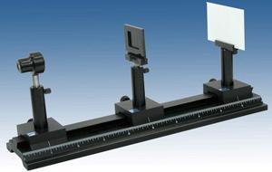 fiber slit diffraction experimental apparatus