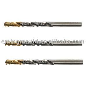 golden point twist drills din 338 tin coated