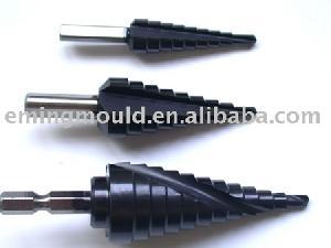 hss step drills tialn coated drill cutting tools