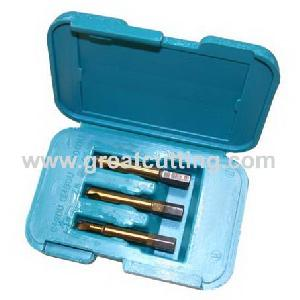 hss tin screw extractors plastic box
