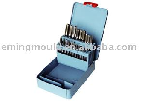threading tool 21 hand taps din 352 metal box