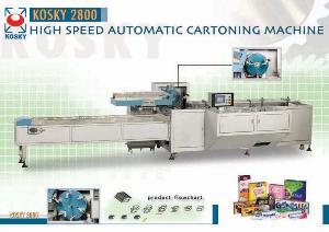 cartoning machine kosky 2800