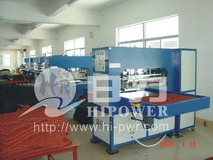 hr 15kwq frequency auto footcolth welding machine