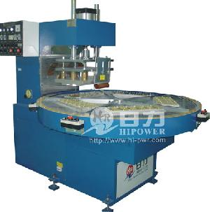 turntable frequency welding cutting machine