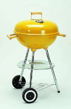 charcoal grill cart kettle