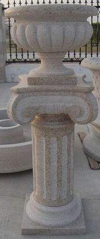 flower pot granite