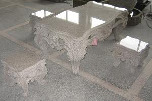 Granite / Marble Tables And Chairs