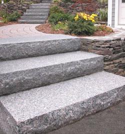 granite stairs step