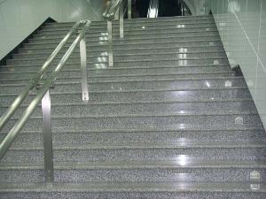 granite step stair