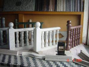 marble balusters balustrade