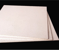 mineral fibre non flammable ceiling board
