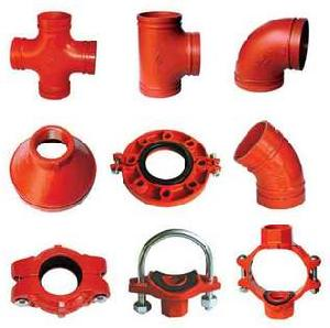 ductile iron grooved fitting