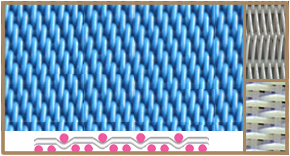 polyester forming fabric filter